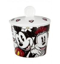 Zuccheriera Disney Mickey Mouse e Minnie Porcellana Egan