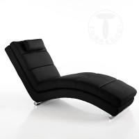 TOMASUCCI chaise longue SOFIA BLACK