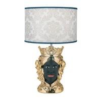 BONGELLI PREZIOSI Lampada da tavolo  con testa di moro MASCHILE