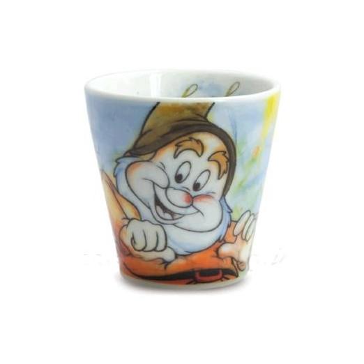 BICCHIERINO DA CAFFE' GONGOLO LINEA SETTE NANI, DISNEY EGAN