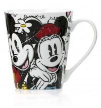 Mug Mickey Mouse e Minnie Porcellana Egan Topolino