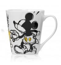 Mug Disney Mickey Mouse con Margherite Porcellana Egan Topolino
