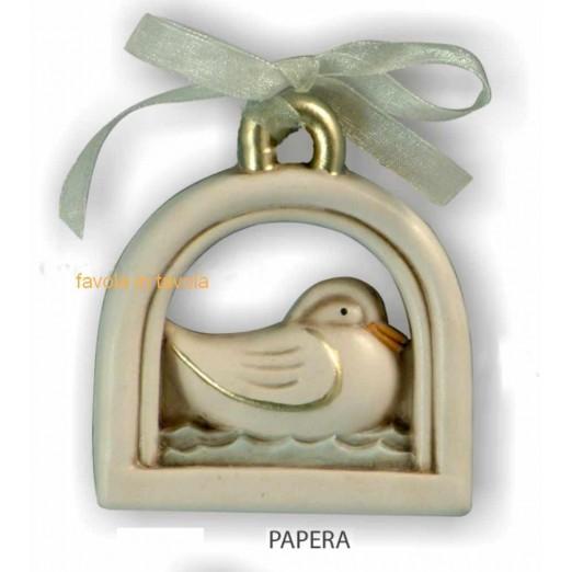 Bomboniera Lunetta Papera  oro