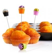 BRANDANI Cupcake tester colori assortiti NON SELEZIONABILI inox/ps