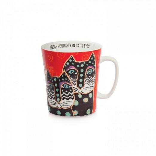 EGAN mug rosso LAUREL BURCH