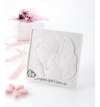 Bongelli preziosi quadretto angelo rosa