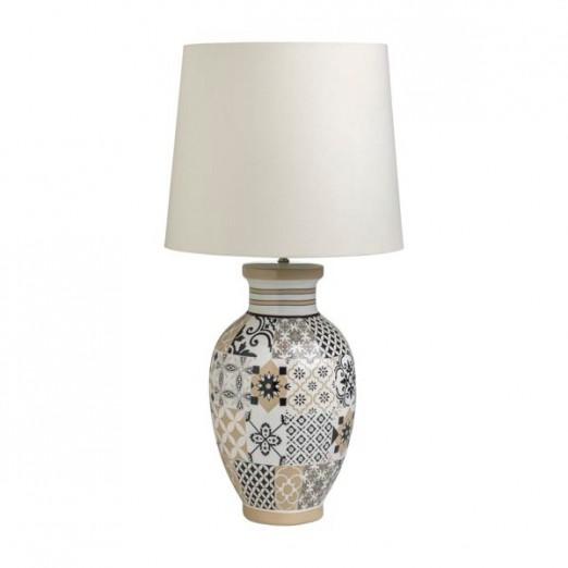 BRANDANI LAMPADA ALHAMBRA IN STONEWARE