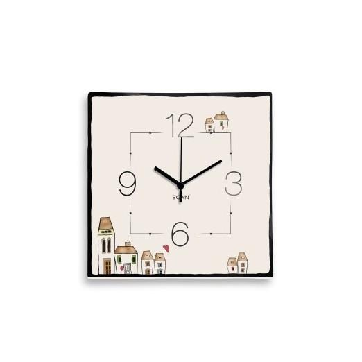 EGAN Orologio Le Casette quadrato
