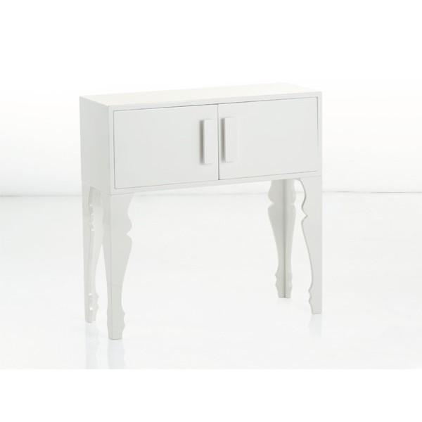 BRANDANI Mobile 2 ante laccato bianco mdf Brandani Gift Group - Favola in  tavola