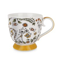 EGAN TAZZA TEA FOR TWO ARANCIO