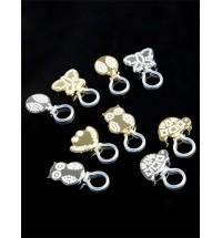 BRANDANI Portaocchiali gioiello animalier soggetti non selezionabili  metallo