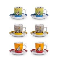 EGAN LE CASETTE SET 6 TAZZINE CAFFE