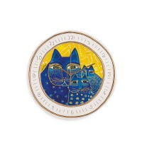 EGAN OROLOGIO LAUREL BURCH GIALLO D.28