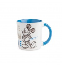 EGAN MUG MICKEY LIVE LAUGH LOVE BLU