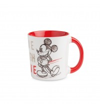 EGAN MUG MICKEY LIVE LAUGH LOVE ROSSO